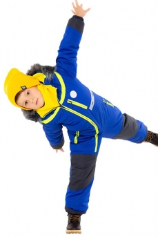 Зимний комбинезон для мальчика Jamm